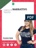 Aula 2 - Texto - Texto Narrativo - Profa. Pamba