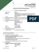 MSDS_Ammonium hydroxide solution