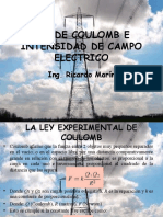 2. Ley de Coulomb e Intensidad de Campo Electrico.pptx