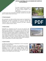 ACTIVIDADES Y RECURSOS DE GUATEMALA