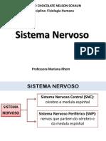 Aula Sistema Nervoso_Aula de Fisiologia