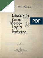"""Zirión - """"Antonio Caso"""" en Historia de la fenomenología en México"""