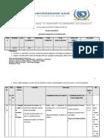 Plano Analítico Sintaxe  e semantica do português