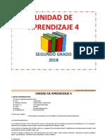 UNIDAD DE APRENDIZAJE  2° junio
