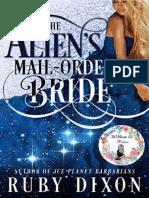 (1)The Alien's Mail-Order Bride(Saga Mail-Order Brides)