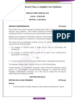 CBSE-Board-Class-11-English-Core-Syllabus