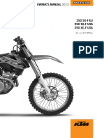 POLISPORT FOLD AWAY STAND MOTOCROSS ENDURO Orange KTM SX SXF Official MXGP Stand