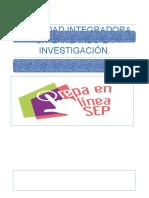 ACTIVIDAD INTEGRADORA 6. PLANEANDO LA INVESTIGACIÓN.