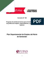 Plan de Empleo de Norte de Santander