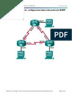 6.2.2.5 Lab - Configuring Basic EIGRP for IPv4