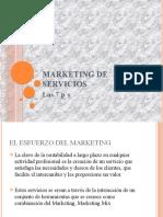 Marketing de Servicios.- Las 7p´s