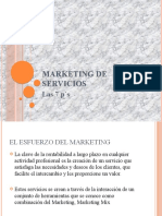 Marketing de Servicios.- Las 7p´s