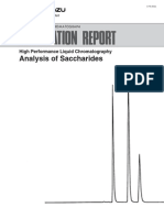 C196-E036 Application Report HPLC Analysis of Sac Char Ides