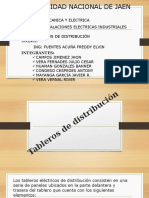 3 Tableros de distribuciónUNJ