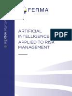 Inteligencia Artificial palicada a la gestion de rriesgos