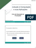 Aula 04 Ciclo de Operacao Do Processador