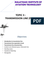 Topic 3 Transmission Line Part I