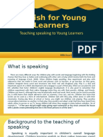 English for Young Learners - Speaking