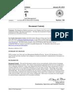 OTS Office of Thrift Supervision Document Custody Program