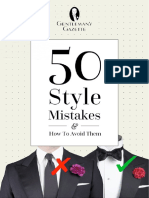 50 Style Mistakes