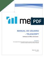 Manual Telescript