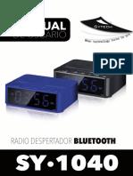 Manual Sytech SY-1040 (español)
