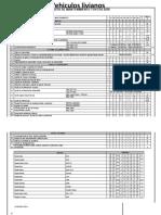 plan de mantenimiento para vehiculos livianos y pesados