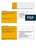 HR Assignment Questionnaire