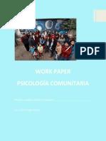 WP PSICOLOGIA COMUNITARIA