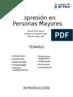 Depresión en PM