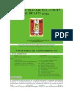 PLANES DE TRABAJO DEL COMITÉ AMBIENTAL DE LA IE 3045