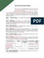 CONSTITUCION DE SOCIEDAD LIMITADA.doc