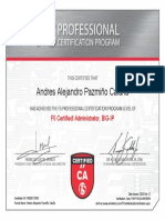 F5 Certified! Administrator, BIG-IP certificate