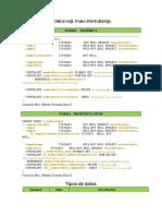 CODIGO SQL PARA POSTGRESQLDEF1