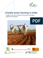 Climate smart farming in India