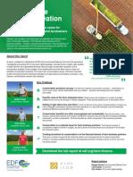 Farm finance one-sheet