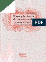 El arte y la ciencia de no hacer nada - Andrew J Smart.pdf