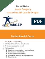 uso de drogas mhgap