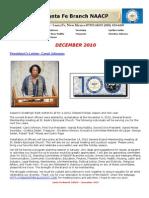 Santa Fe December 2010 Newsletter
