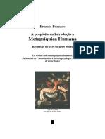 Metapsiquica Humana - Ernesto Bozzano