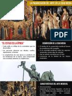 Paganización del arte medieval