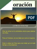 La Oración, Luis Mariano Cortés Vega