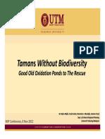 Tamans Without Biodiversity