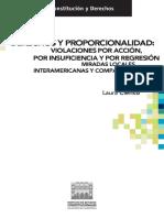 56 - Derechos y proporcionalidad violaciones por acción, por insuficiencia y por regresión. Miradas locales, interamericanas y comparadas -  Laura Clérico.pdf