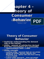 Ch04 -Theory of Consumer Behavior