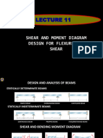 Lecture 10 (Shear and Moment Diagram, EtAl)