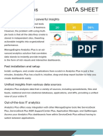 ManageEngine Analyzer Datasheet