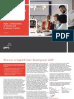 Digital Product Development 2025