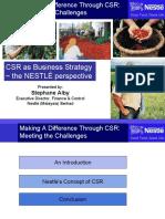 CSR Nestle