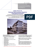 External Wall Insulation Irish Certification